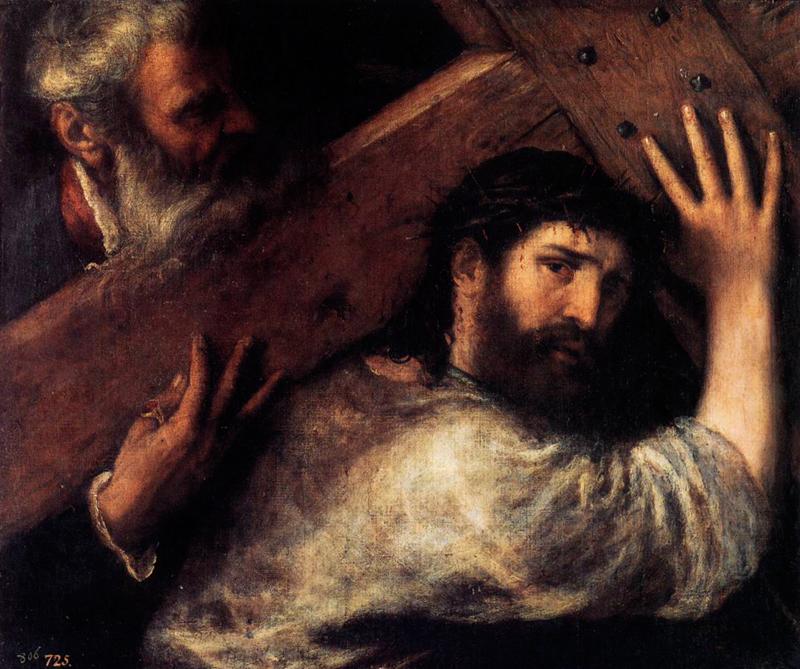 Cristo llevando la cruz, Museo del Padro, Madrid, 1565 - 1570, Archivo Diners, CC BY 0.0.