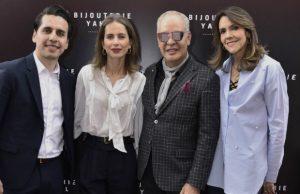Diego Moncada, Marcela Marún, Hernán Zajar y Ángela Ramírez.