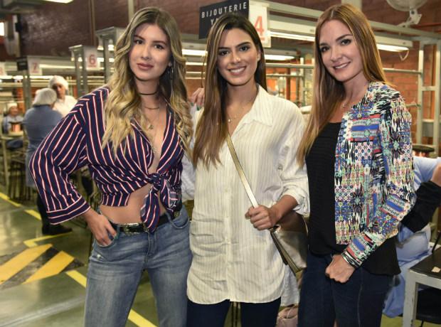 Mónica Molano, Lucía Aldana y Johanna Uribe.