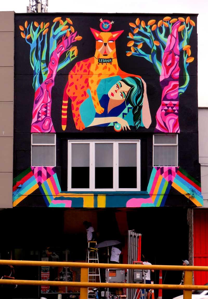 arte urbano en Colombia