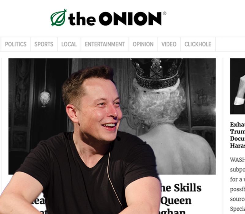 El genio y millonario, fundador de Tesla, está creando un medio de noticias de humor y sátira.