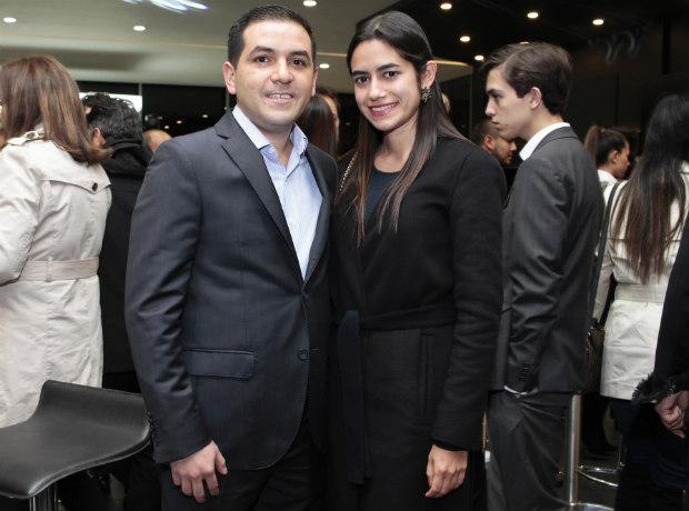 Mario Correa y Marta Corzo.