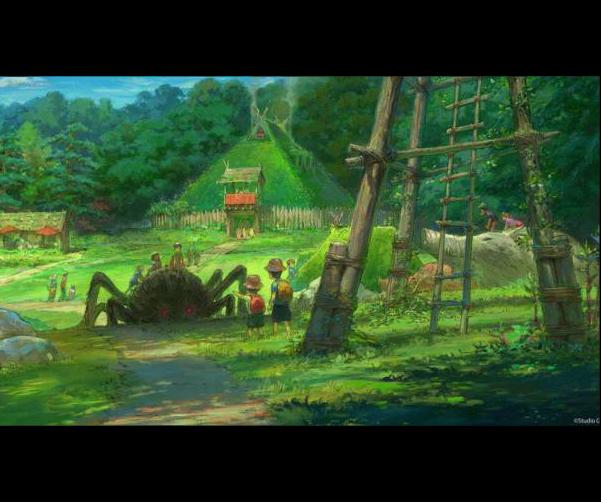 <div>Área de la Villa. Inspirada en La Princesa Mononoke.</div>