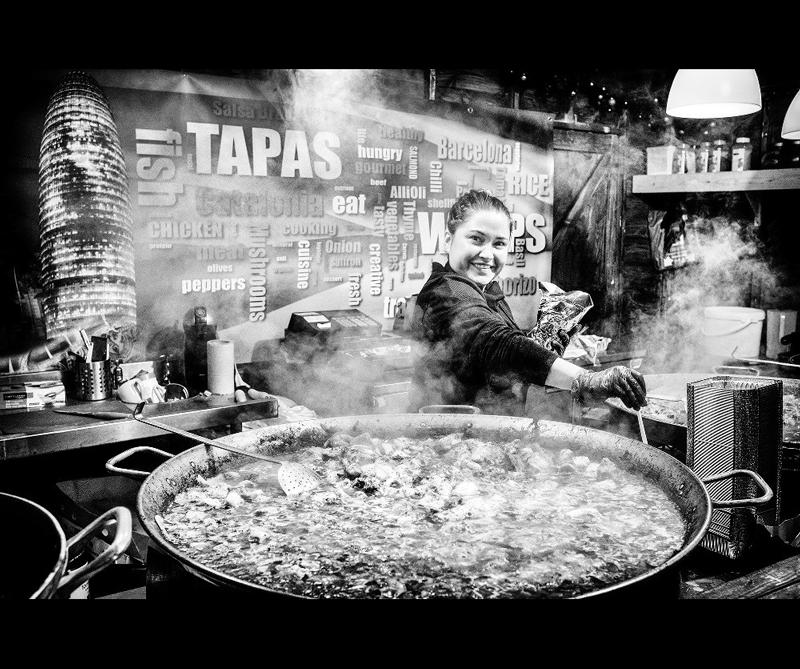 Categoría Marks & Spencer Food Adventures Ganador: 'Tapas Upon Tyne' de Derek Snee (Reino Unido)