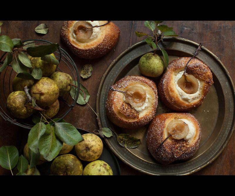 Categoría Marks & Spencer Food Portraiture Ganador: 'Pastry and Pears' de Linda Taylor (EE.UU)