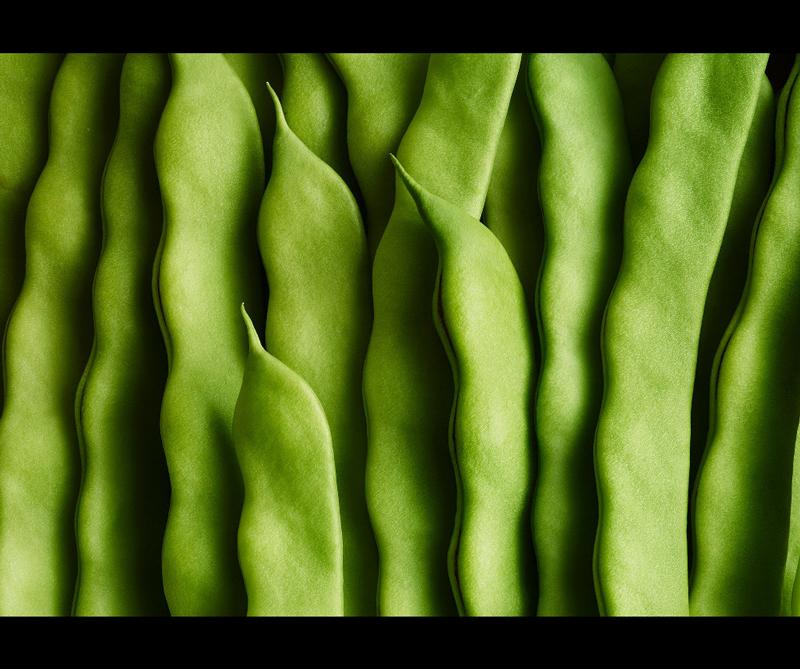 Categoría One Vision Imaging Cream of the Crop Ganador: 'Green Beans' de Andy Grimshaw (Reino Unido)