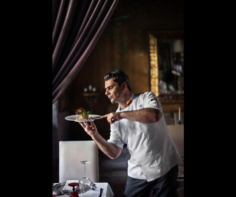 Categoría InterContinental London Park Lane Food at the Table Ganador: 'Fine Dining Colombia' de Tom Parker (Reino Unido)