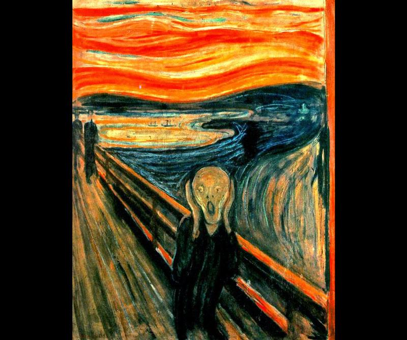 El grito: Una de las obras más famosas del pintor noruego Edvard Munch se vendió por 119 millones de dólares en 2012, por la casa de subastas Arnold, de Frankfurt.