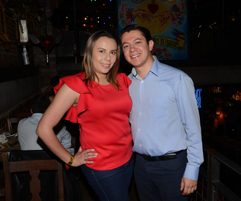 Camila Omaña y William Moscosa
