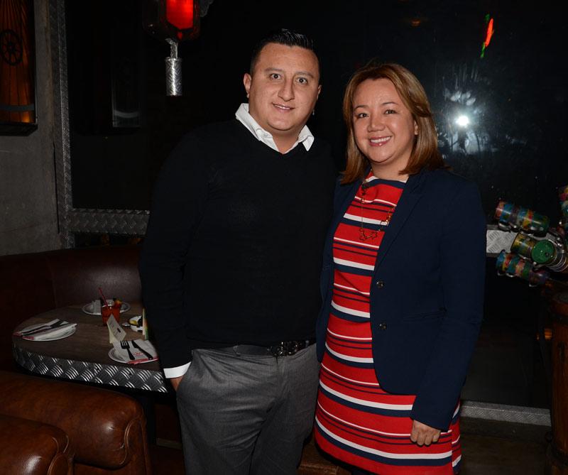 <div>Camilo Gil y Adriana Bohórquez</div>