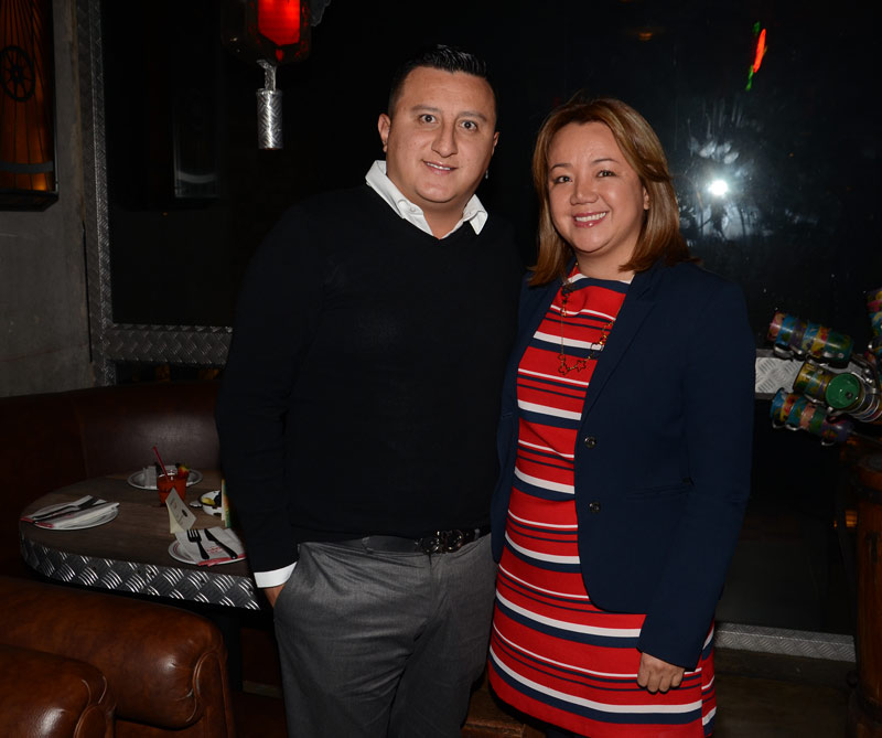 Camilo Gil y Adriana Bohórquez