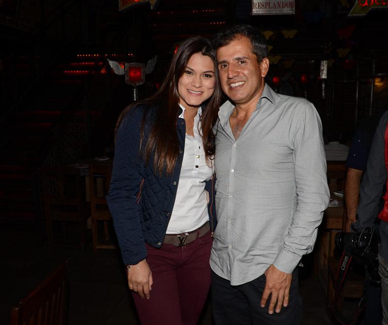 Katerine Rubio y Hugo Cortés