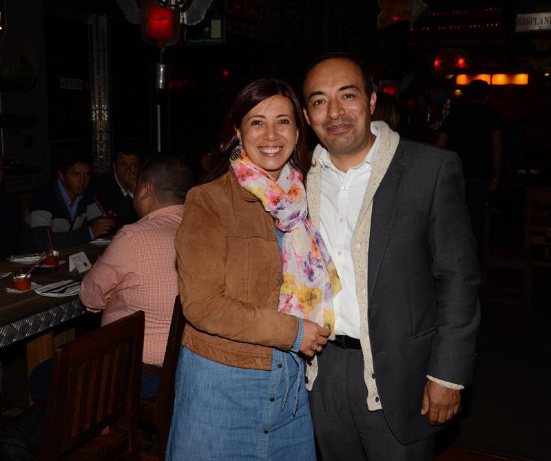 Nirza Cuesta y William Rojas