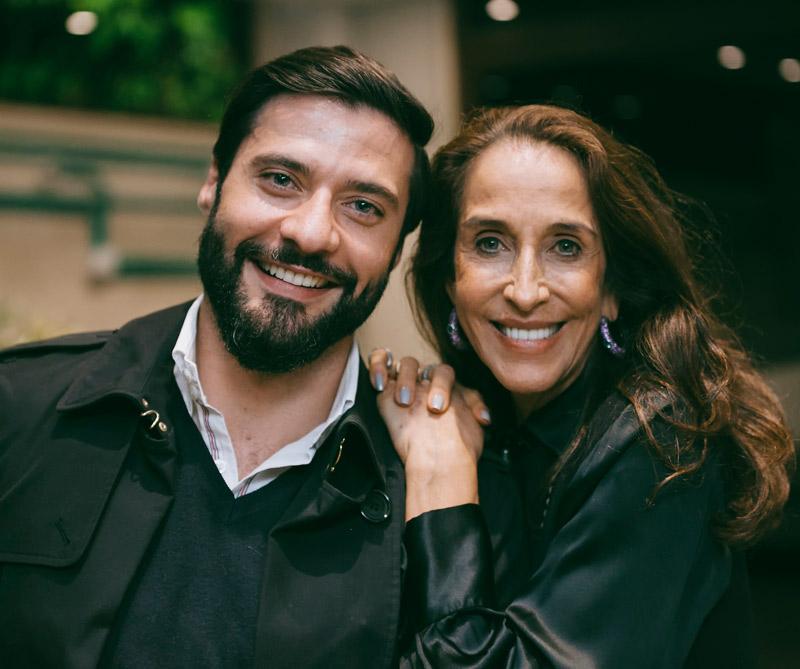 <div>Dorian Mejia, general manager de Distribeauté Colombia y Pilar Castaño.</div>