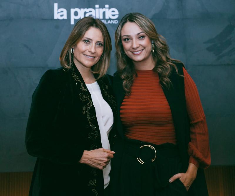 <div>María Lucía Fernández y Mónica Jaramillo.</div>