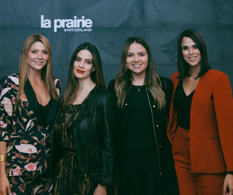 Maythe González, Manuela González, Jennifer Boada, group manager de Distribeauté Colombia y Andreina Solórzano.