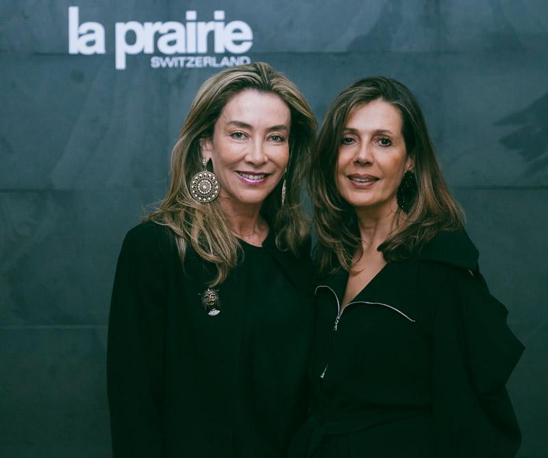 Marcela Carvajal y María Clara López.