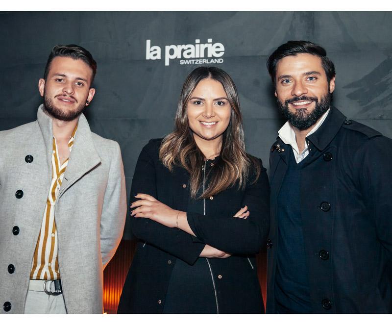 <div>Carlos Chaves, Jennifer Boada, group manager de Distribeauté Colombia y Dorian Mejia, general manager de Distribeauté Colombia.</div>