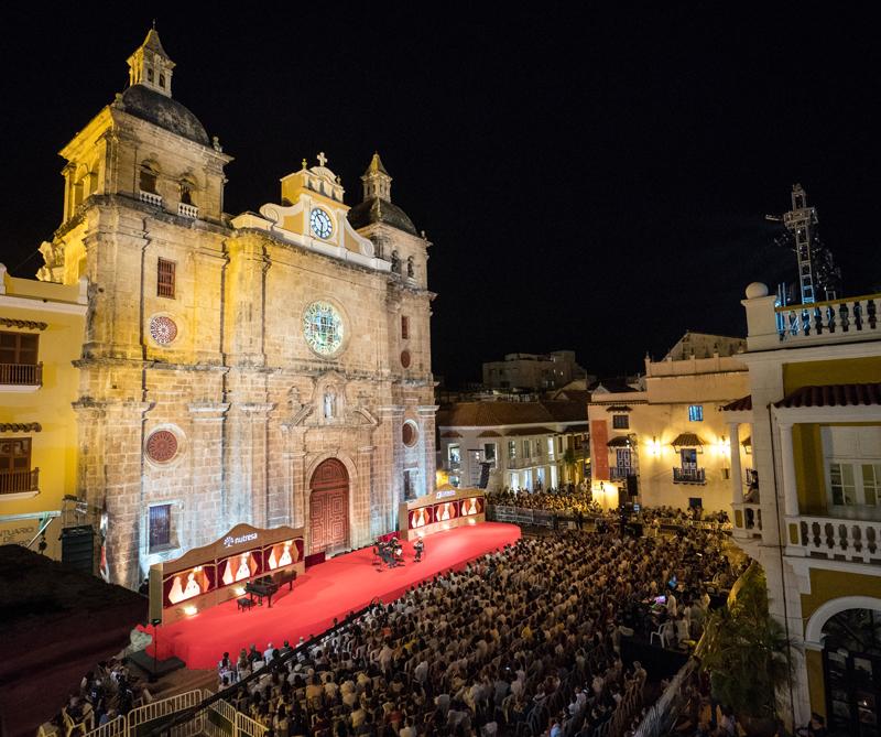 Como todos los años, Cartagena recibe uno de los mejores festivales de música del continente