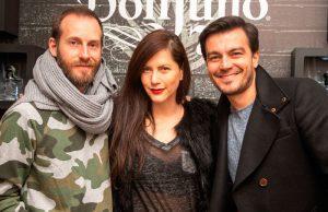 Alejandro Rauhut, Johana Morales y Luciano D'Alessandro