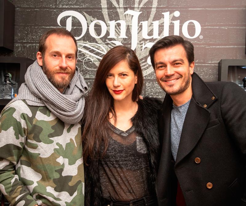 <div>Alejandro Rauhut, Johana Morales y Luciano D'Alessandro</div>