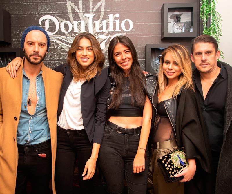 <div>Diego Cadavid, Laura Archbold, María Jordi, Michelle Arévalo y Leonardo Virviescas</div>