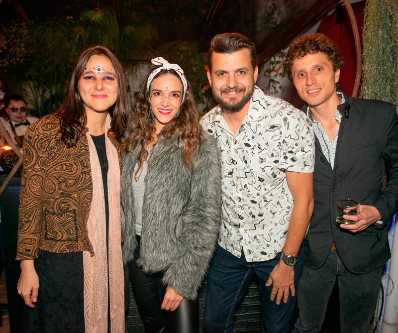 <div>Julia Londoño, Jennifer Leibovici, Pablo Carrizo y Andrés Andrade</div>