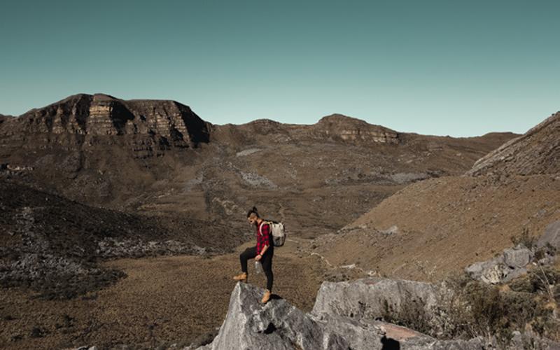 Uno de los lugares más emblemáticos de la sierra es subir hasta el Púlpito del Diablo.