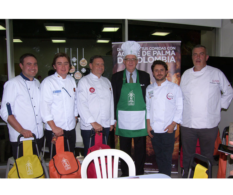 <div>De izquierda a derecha: Andrés Cardona, Daniel Jiménez, Carlos Gaviria, Jens Mesa Dishington, Alejandro Cuéllar, Francois Cornelis</div>