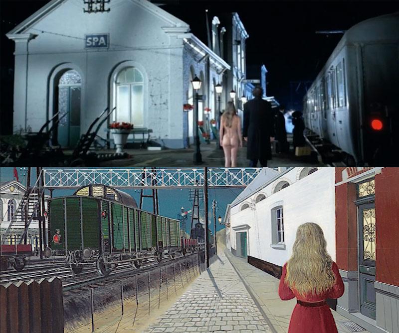 Belle obras de arte en el cine
