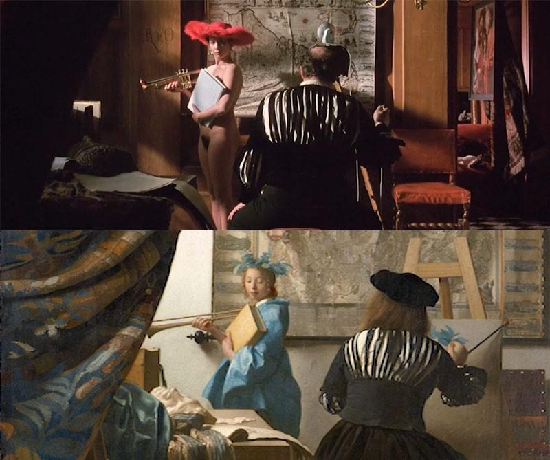 obras de arte en el cine