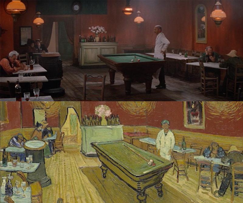 Vincent Van Gogh obras de arte en el cine
