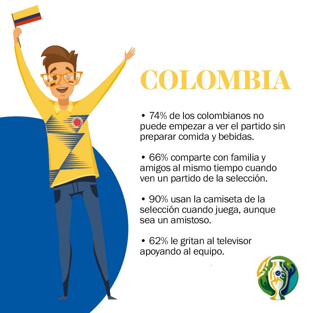 Este fin de semana se llevan a cabo los partidos finales de la Copa América y qué mejor forma de despedirla, que con las estadísticas de los hinchas durante el certamen.