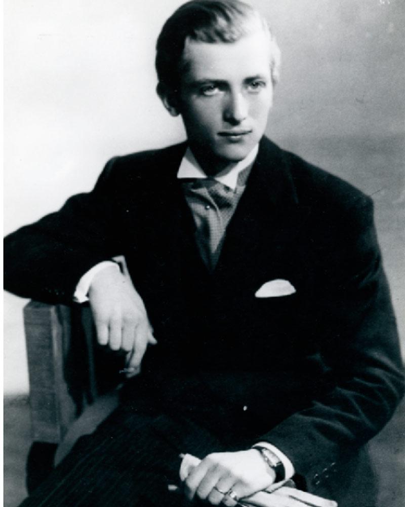 Alejandro Obregón en su juventud