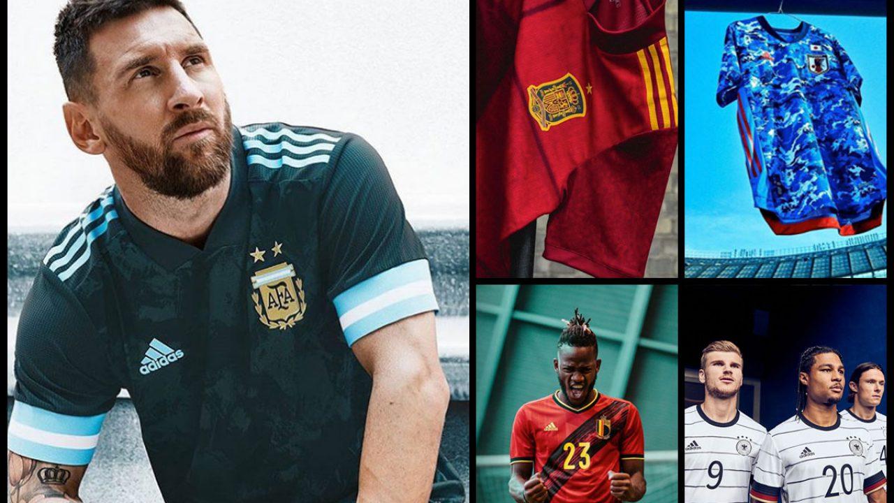 Esperanzado Preservativo Destreza  Galería: Estas son las nuevas camisetas de las selecciones nacionales de  fútbol