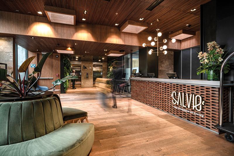 hoteles de lujo, Salvio