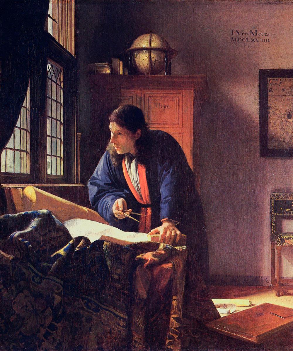 El geógrafo de Vermeer