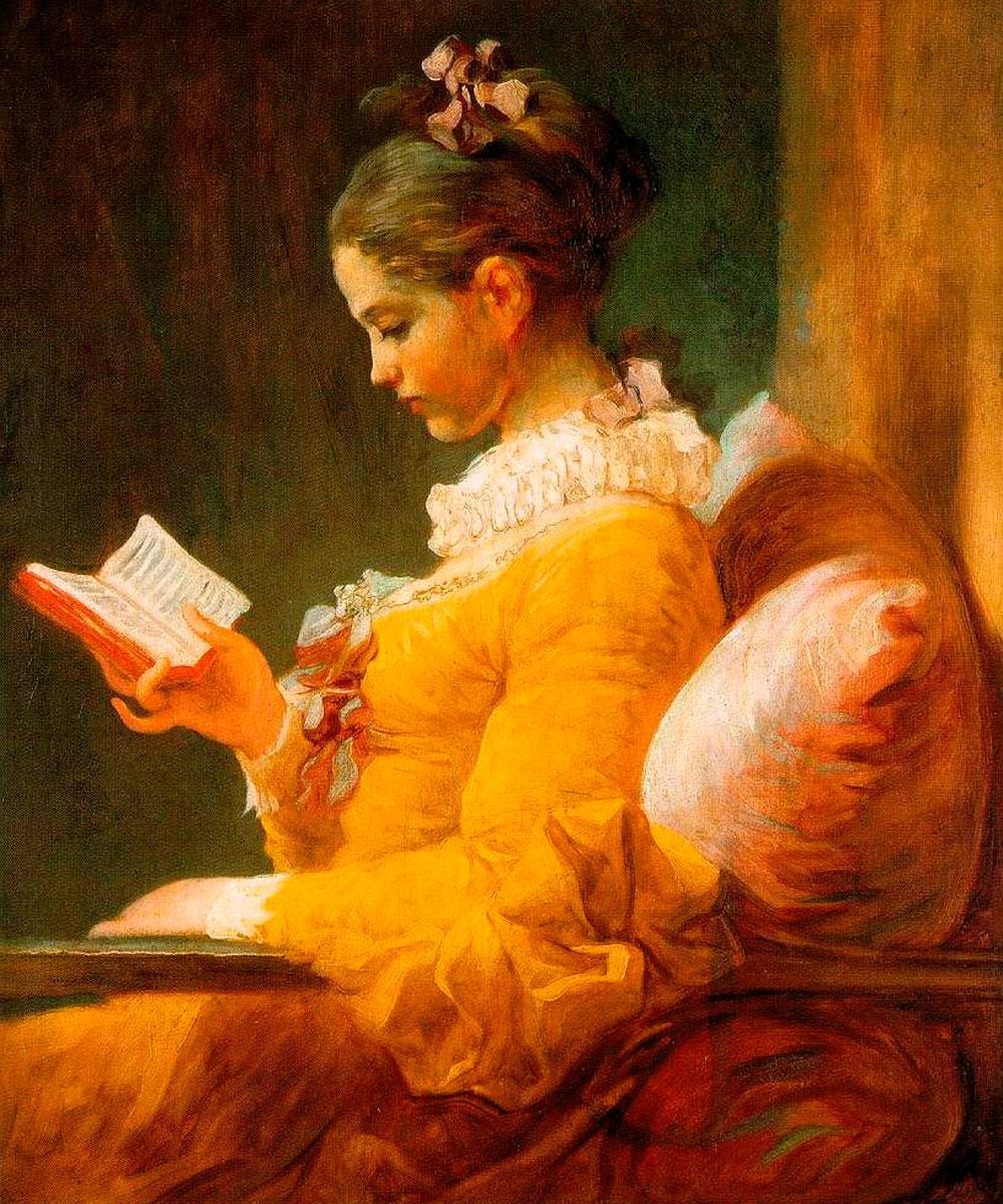 La Muchacha leyendo de Jean Honoré Fragonard