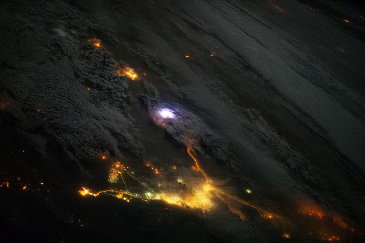 Tormenta, NASA