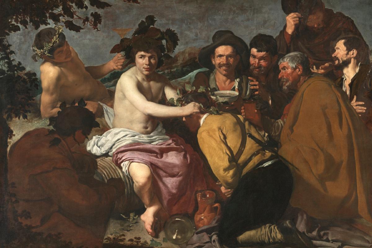 Pintura_Los borrachos, o El triunfo de Baco