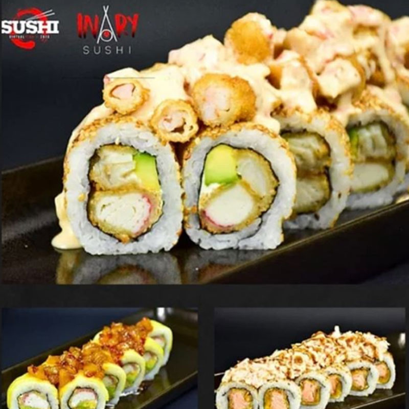 Inary Sushi Virtual Fest