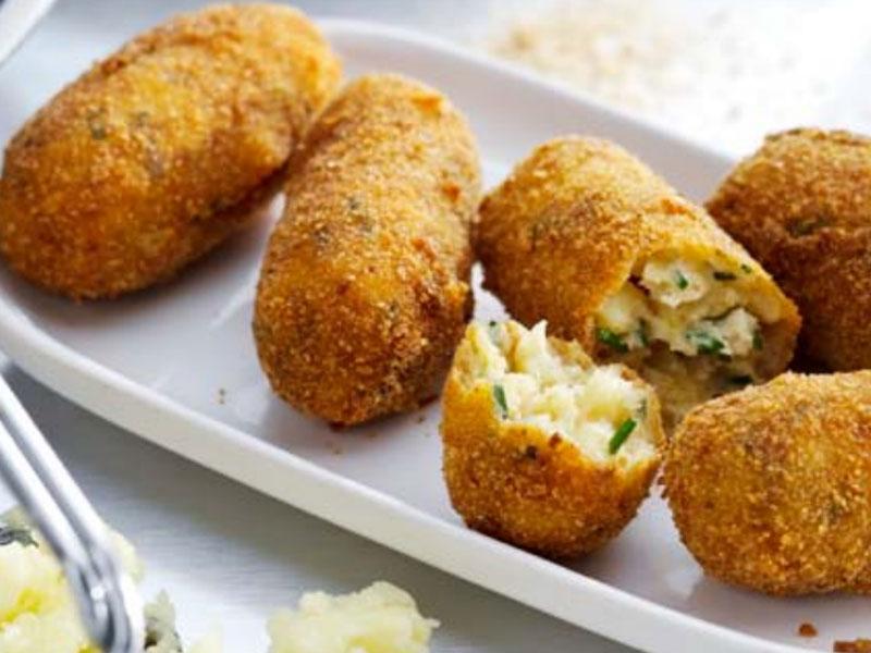 croquetas de parmesano