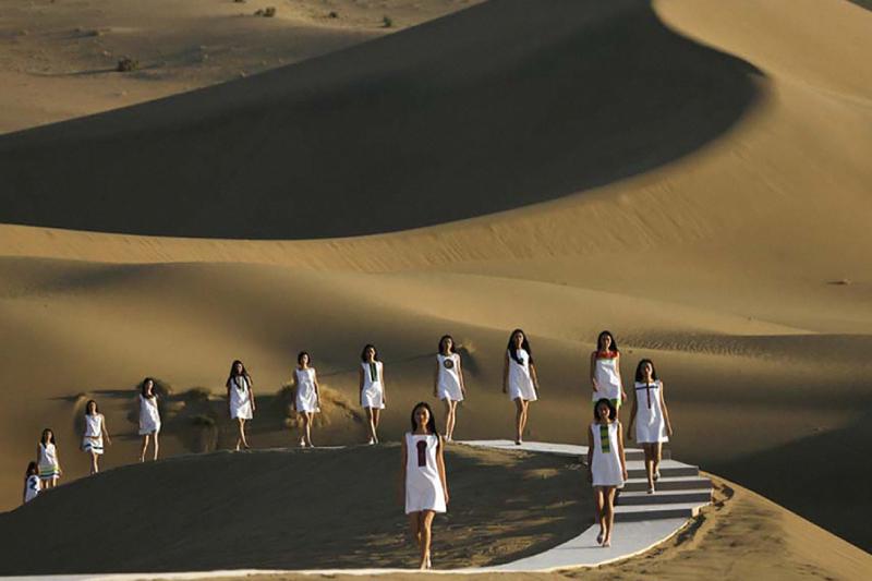 Pasarela desierto