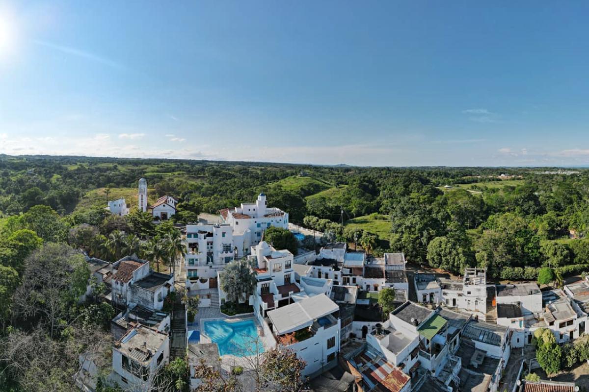 Vista aérea La Aldea