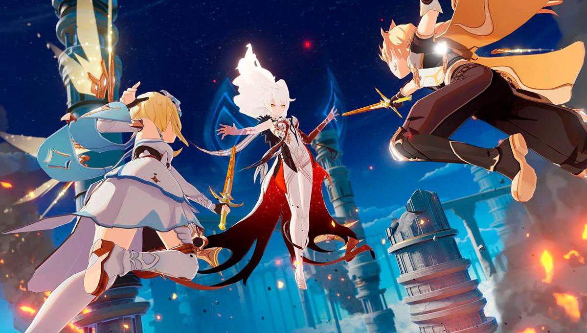 Genshin Impact, videojuegos anime